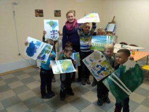 Арт-студия для детей 3-6 лет