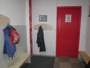 Женская раздевалка в детском клубе Kokoro