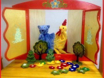 Кукольный театр для детей 3-8 лет
