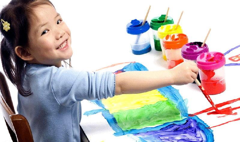 Рисование для детей: польза и удовольствие