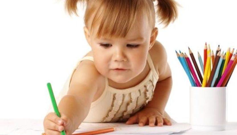 Рисование с малышом: приемы и игры