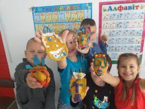 Глиняные истории - африканская маска