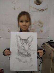 Курс малювання олівцем для дітей з 7 років - фото 1