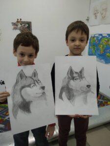 Курс малювання олівцем для дітей з 7 років - фото 2