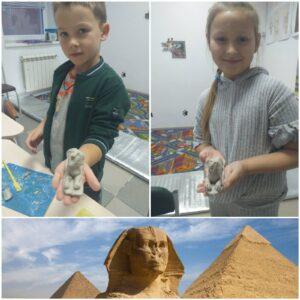 Глиняные истории - Древний Египет