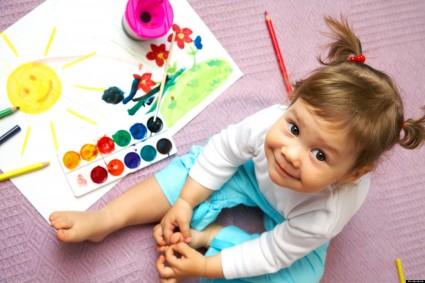 Арт-студия для детей 1-3 года