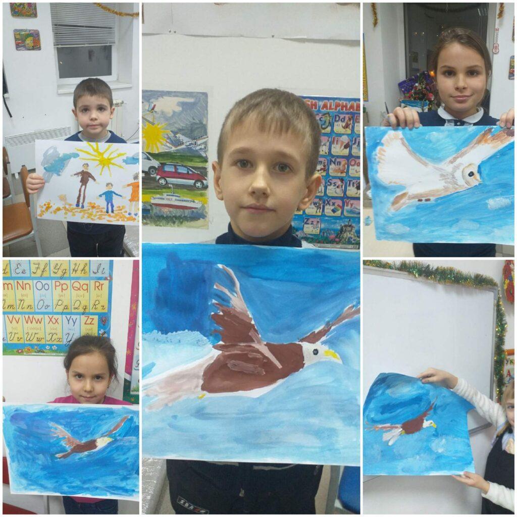 Курс малювання фарбами (живопис) для дітей 7-14 років - фото 1