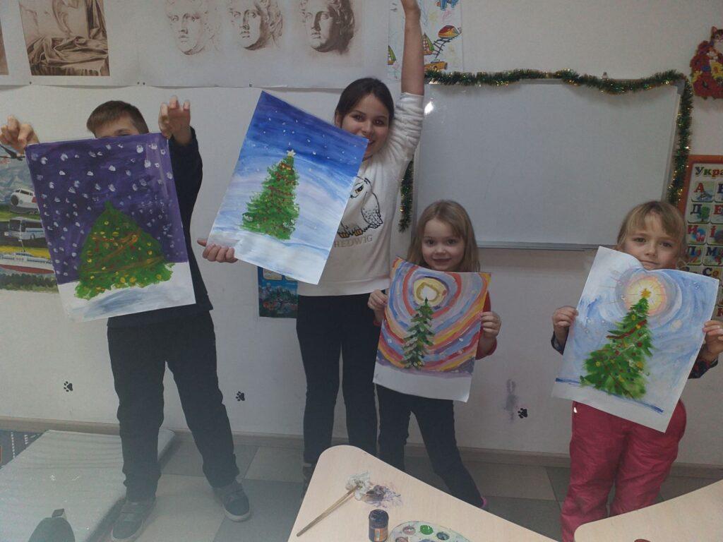 Курс малювання фарбами (живопис) для дітей 7-14 років - фото 2