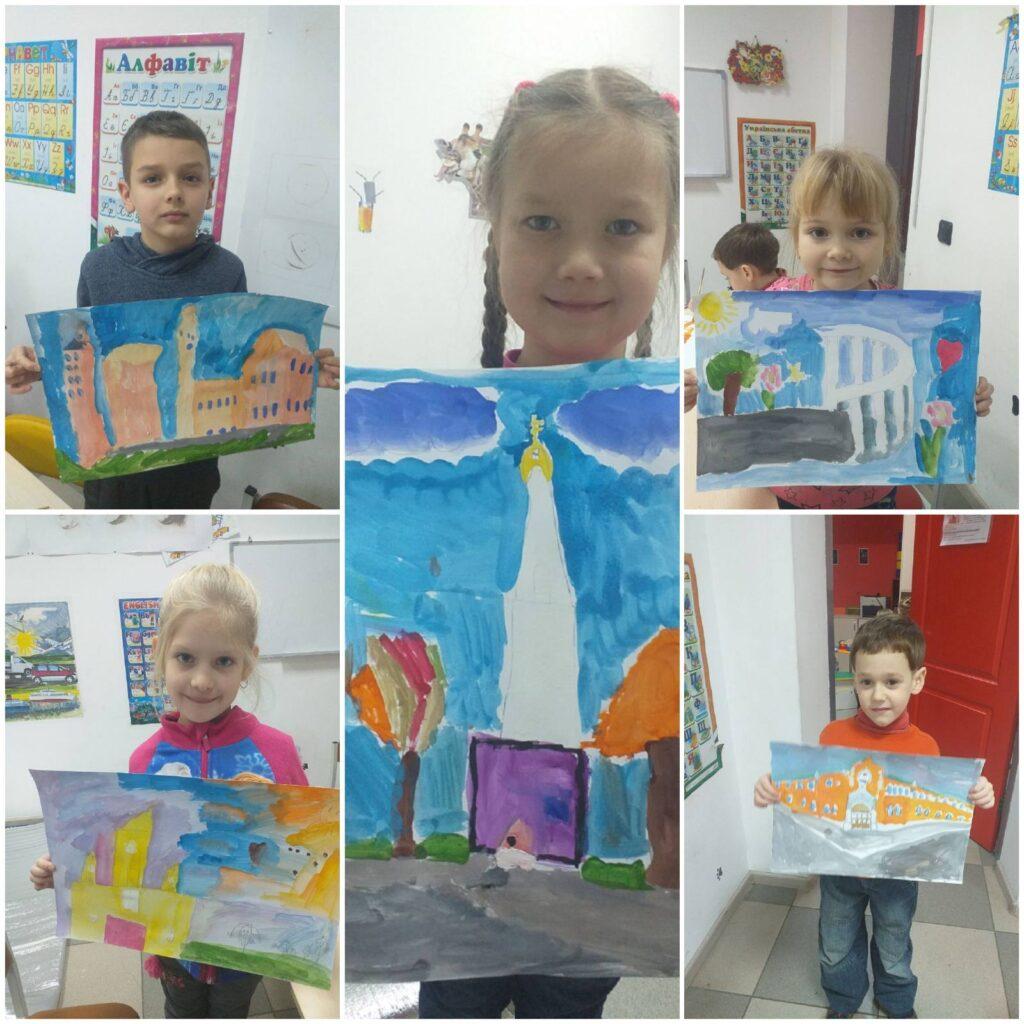 Курс малювання фарбами (живопис) для дітей 7-14 років - фото 4
