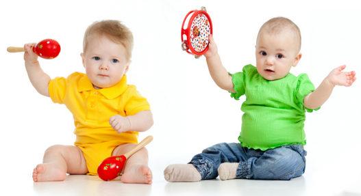 Музыка + йога для детей 1-3 года
