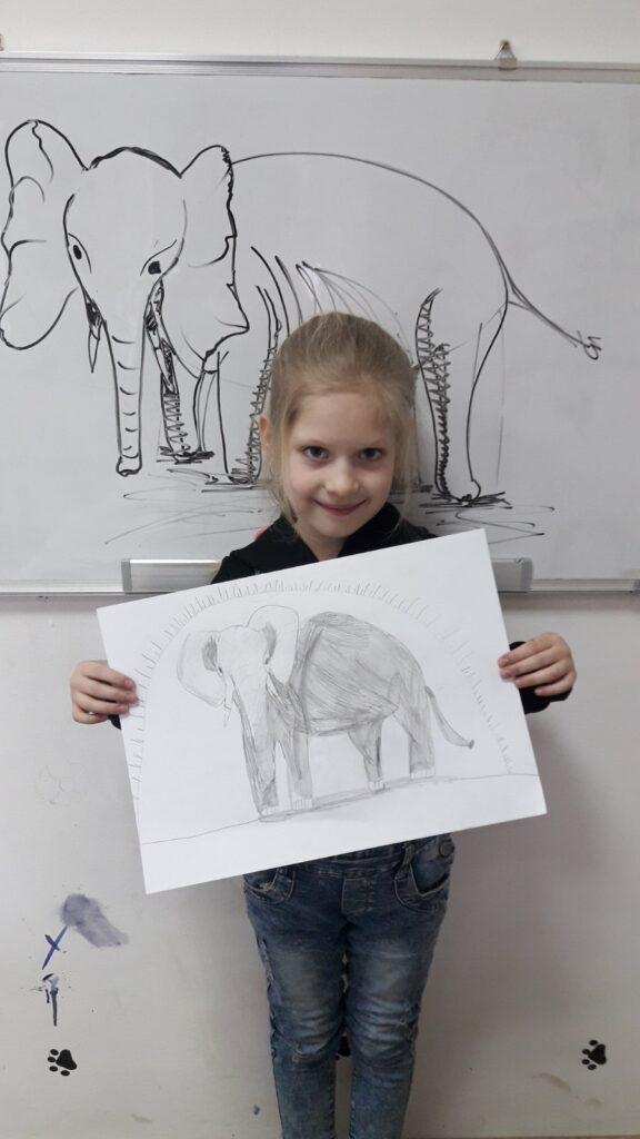 Рисуем слона
