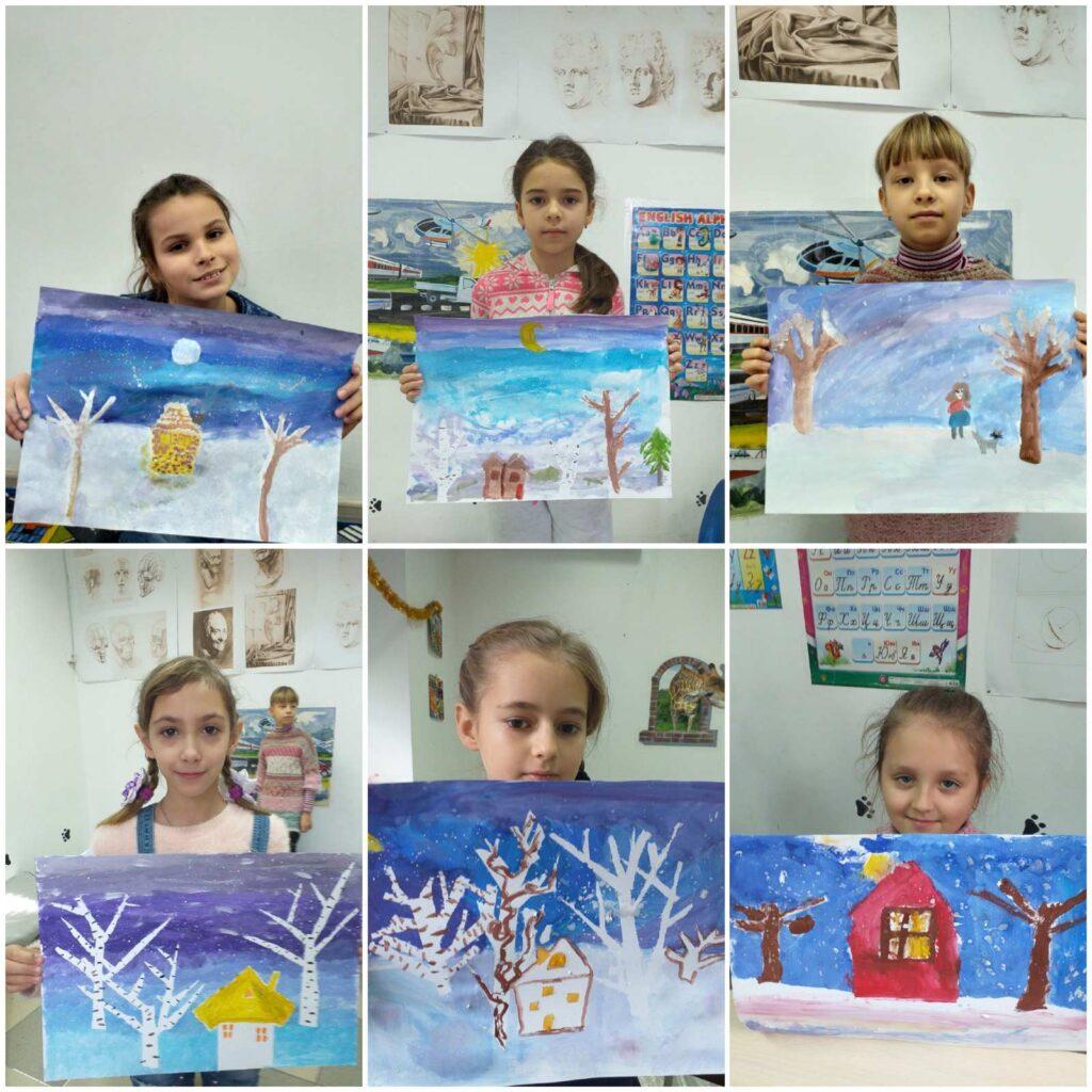 Курс малювання фарбами (живопис) для дітей 7-14 років - фото 3