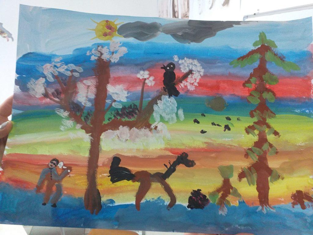Курс рисования красками - фото 4