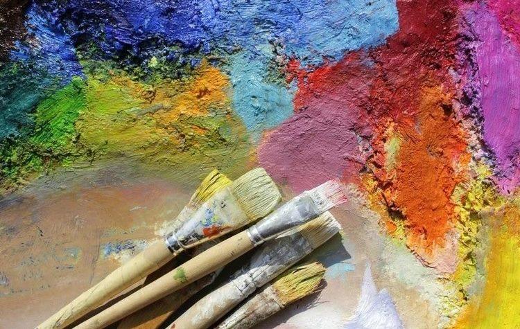 Курс рисования красками