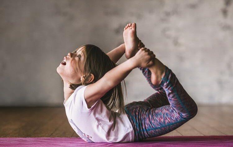 Йога в жизни ребенка