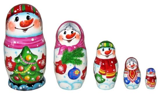 Русская народная игрушка матрешка - картинка 16