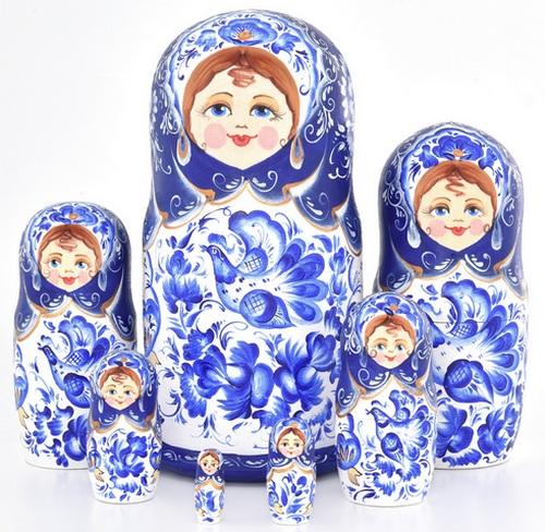 Русская народная игрушка матрешка - картинка 2