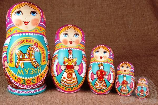 Русская народная игрушка матрешка - картинка 4