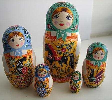 Русская народная игрушка матрешка - картинка 5