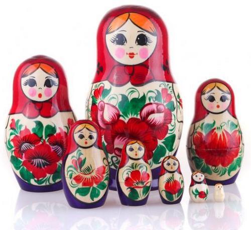 Русская народная игрушка матрешка - картинка 6
