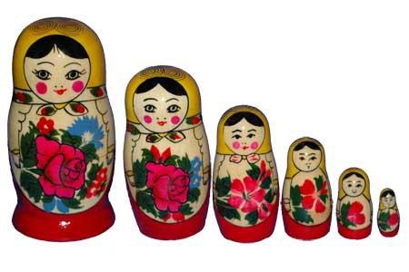 Русская народная игрушка матрешка - картинка 7