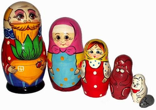 Русская народная игрушка матрешка - картинка 8