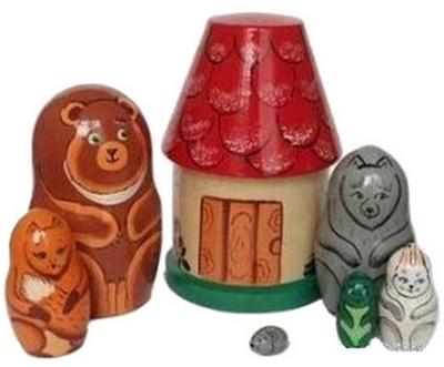 Русская народная игрушка матрешка - картинка 9