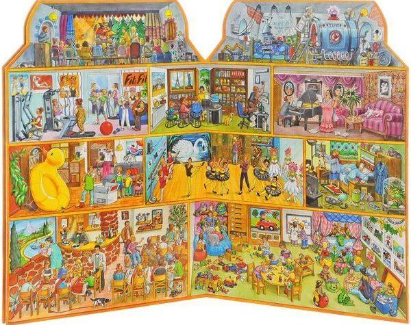 Виммельбухи, или книги-гляделки для ребенка