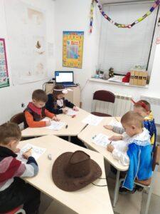 Кабинет 1 - подготовка к школе
